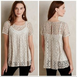 Gorgeous lace top Anthropologie